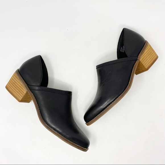 Crown Vintage | Morrison Leather Cutout Booties 9
